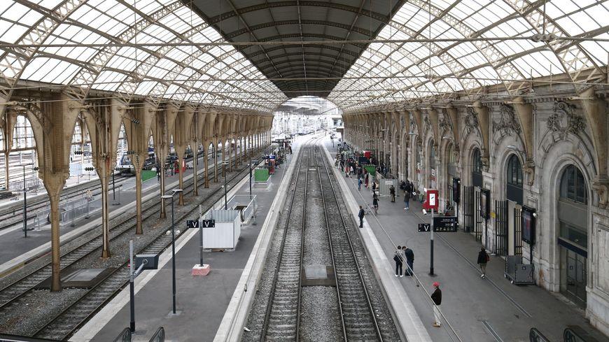 Gare SNCF de Nice.