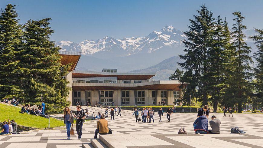 Une photo du campus de Grenoble