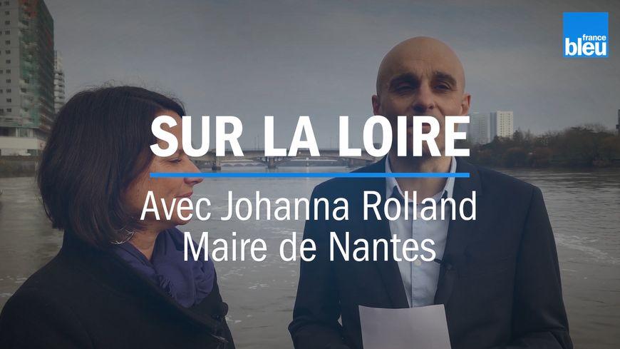 Sur la Loire avec Johanna Rolland