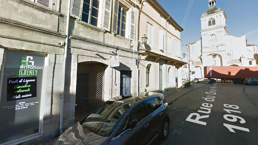 Le braquage a eu lieu dans l'alimentation générale de Barsac, rue du 11 novembre.