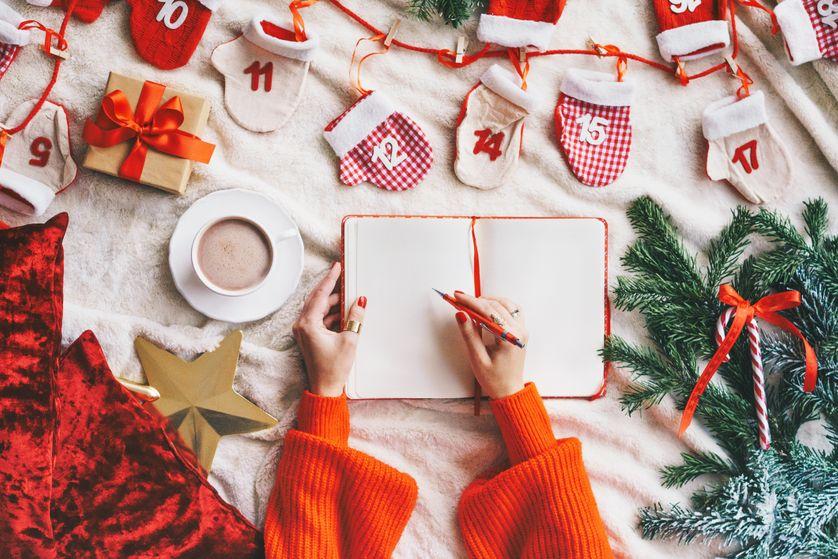 De Lart Délicat De Faire Une Liste De Noël