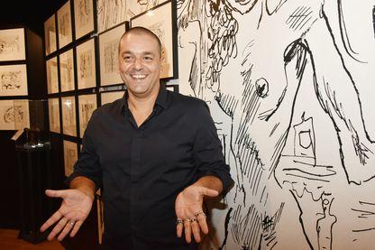 Joann Sfar auteur de bande dessinée, illustrateur, romancier et réalisateur.