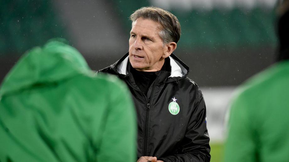 """Pour son manager Claude Puel, """"l'AS Saint-Etienne n'était pas prête à jouer la Ligue Europa"""""""