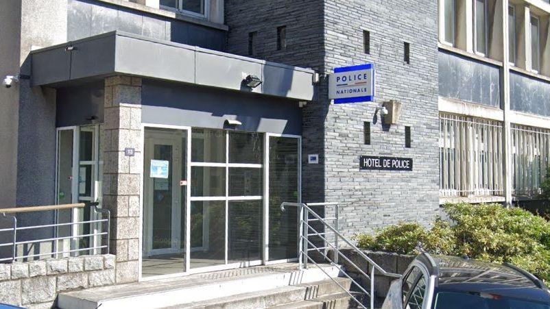 Hôtel de police de Vannes.