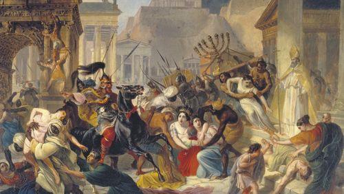 Lorsque l'Empire romain se désagrégea...
