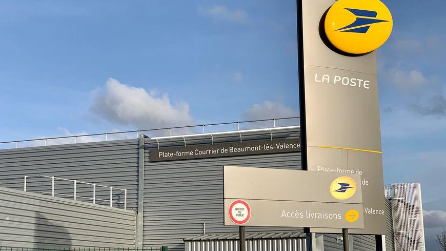 le centre de tri de Beaumont-lès-Valence