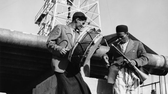 Deux musiciens iraniens en 1955