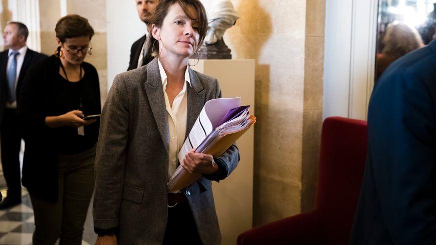 Émilie Bonnivard à l'Assemblée nationale.