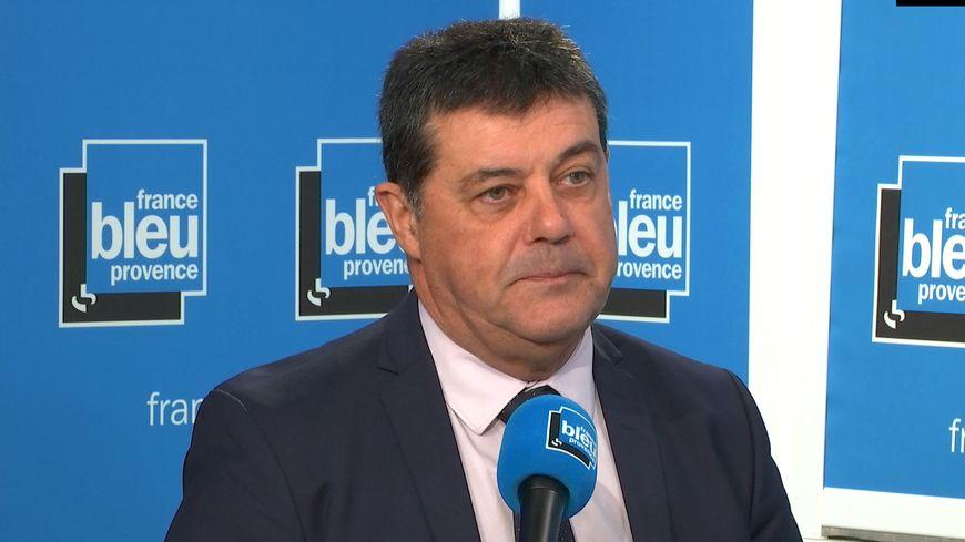 Jean-Marc Perrin, candidat à l'investiture des Républicains à Aix-en-Provence