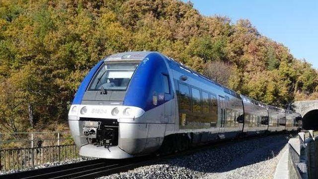Un TER sur la ligne Grenoble/Veynes