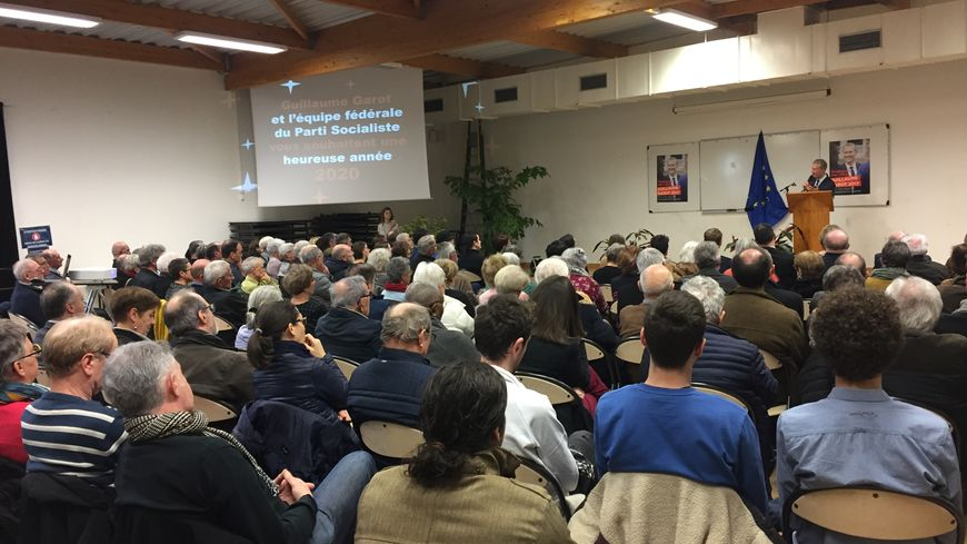 Cérémonie des voeux 2020 du député Guillaume Garot à Laval.