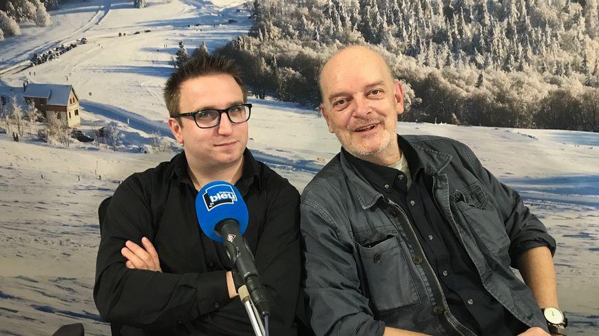 Jonathan Wahl mit Kaï Littmann