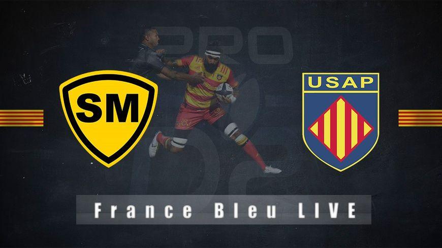 Vivez le match Stade Montois USAP sur France Bleu Roussillon