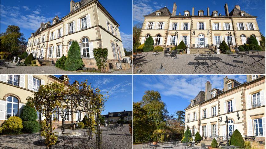 Le château d'Ygrande dans l'Allier