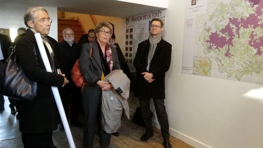 Elisabeth Borne a reçu une carte du secteur