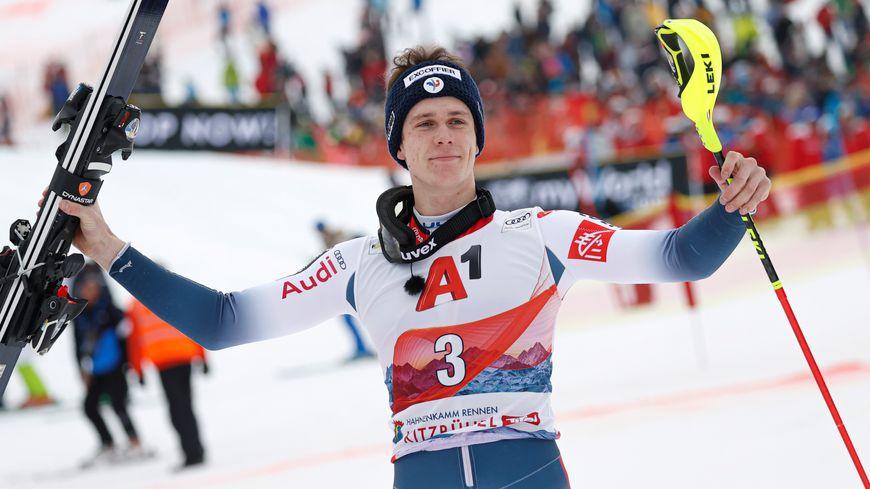 Clément Noël, troisième au classement général de la discipline