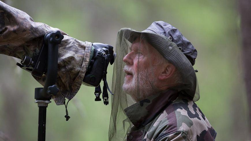 Bernard Claessens en forêt finlandaise
