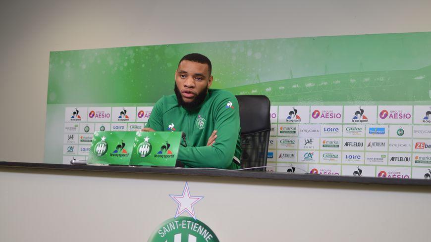 Le défenseur a joué dix matches avec les Verts cette saison en Ligue 1.