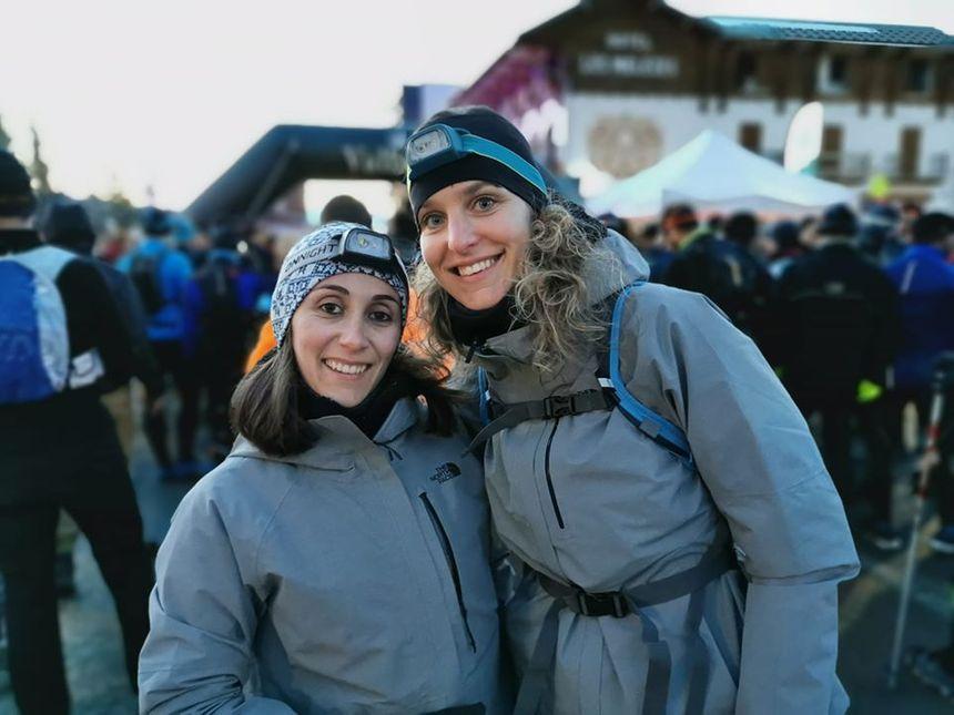 Aurélie Tata et Célia Andrès se préparent depuis presque deux ans pour cette aventure hors norme