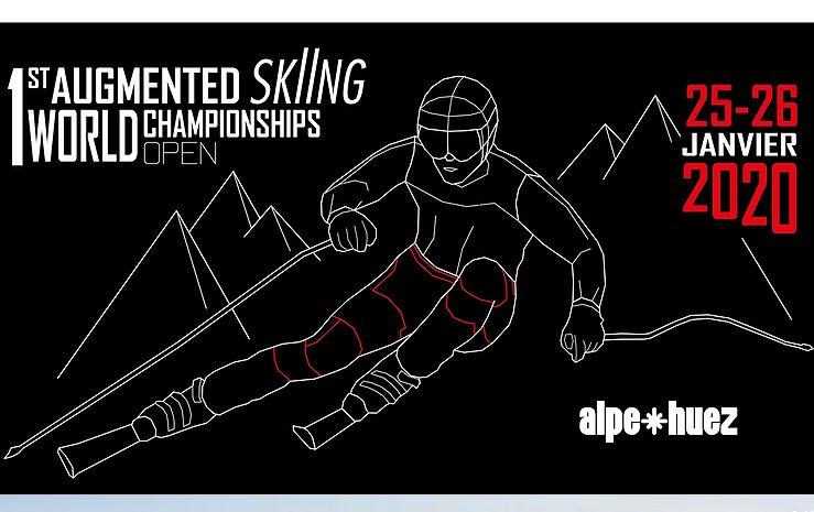 Affiche 1er Championnat du Monde Open de Ski Augmenté