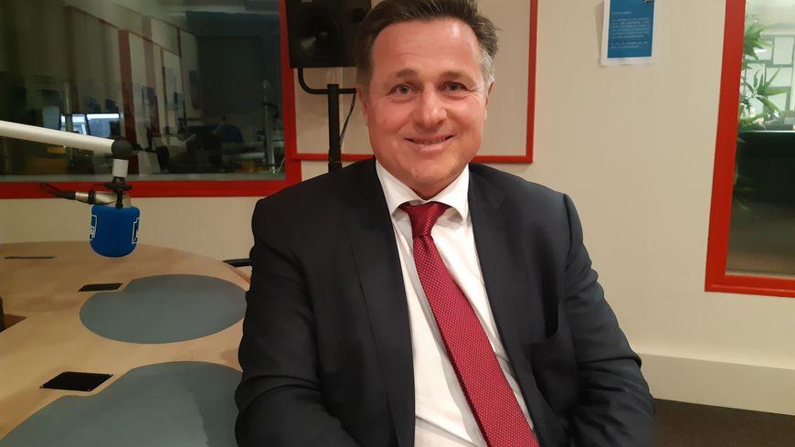 Éric Hunaut le PDG de Faral à Laval