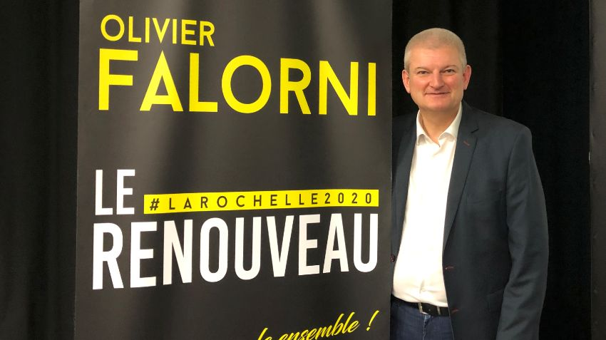 Le député Olivier Falorni est candidat à La Rochelle aux Municipales de mars 2020