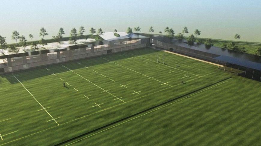 Le futur centre de formation et d'entrainement de l'Aviron Bayonnais