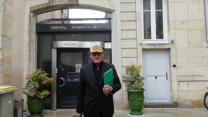 Xavier Duvignaud, le maire de Saint Eugène devant le tribunal administratif de Dijon