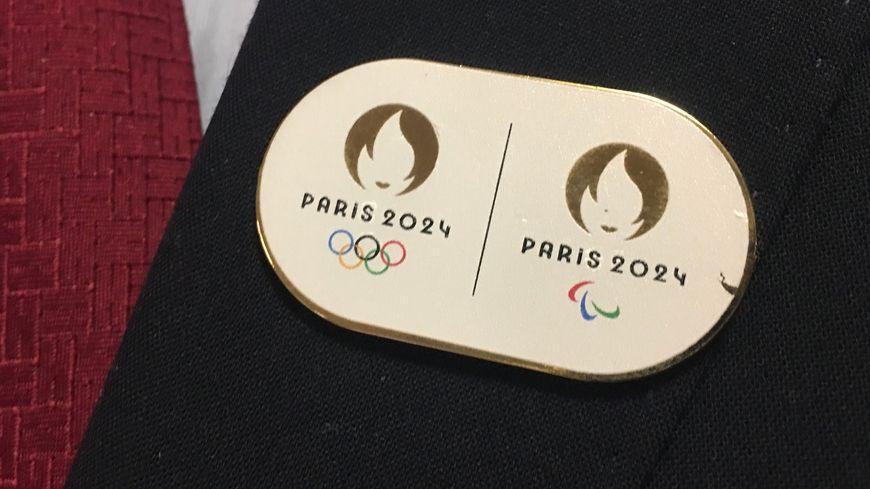 Le pin's des Jeux Olympiques 2024 à Paris