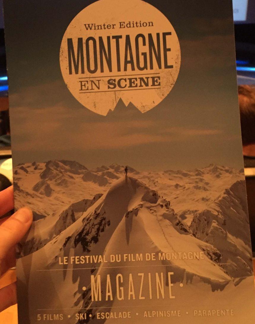 Affiche du festival Montagne en Scène
