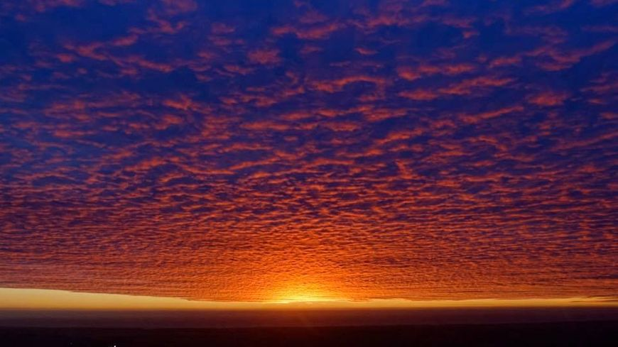 Vous avez été nombreux à partager les superbes photos du lever de soleil ce mardi.