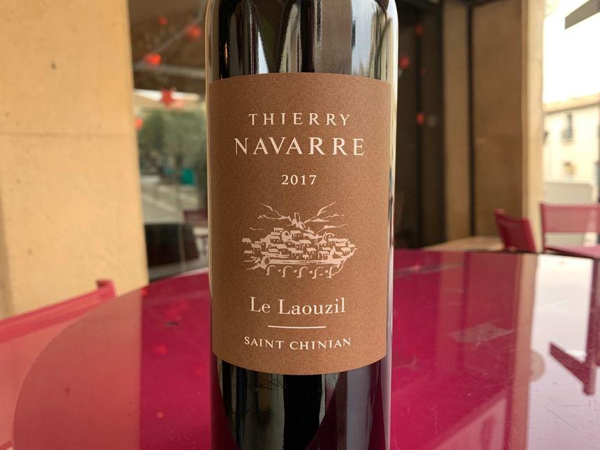 La cuvée Le Laouzil de Thierry Navarre est d'une gourmandise absolue