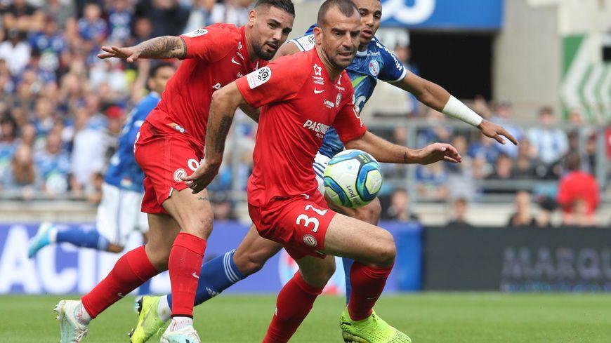 Petar Skuletic n'a pas trouvé le chemin des filets, cette saison, avec Montpellier