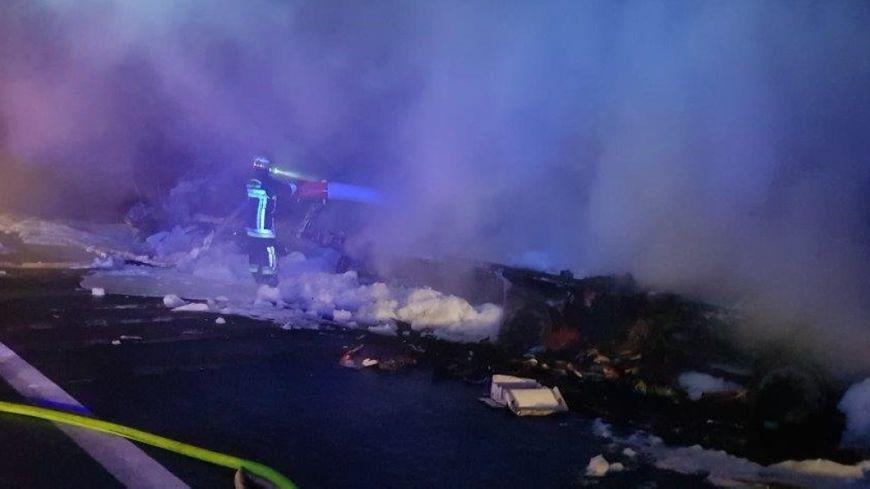 Intervention des pompiers dans la nuit sur l'A 10, dans le sens Paris-Orléans