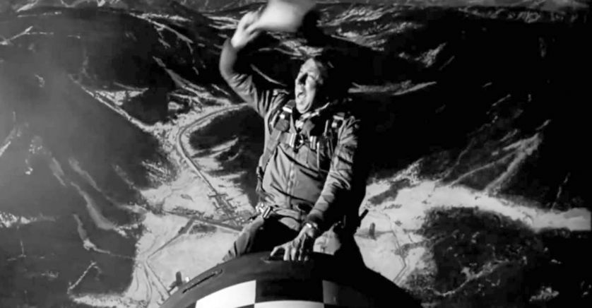 Major Kong ride the bomb. Capture d'écran