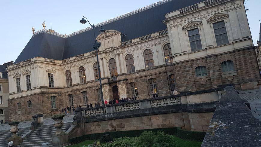 Le Parlement de Bretagne qui abrite la Cour d'Assises d'Ille-et-Vilaine.