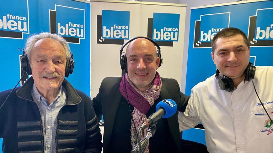Claude Vanony Jérôme Prod'homme et Thierry Longo