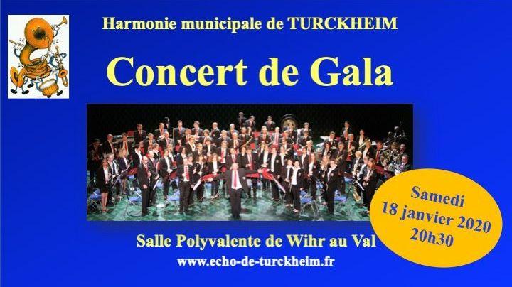 Concert de Gala Harmonie Echo de Turckheim