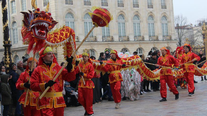 Le Nouvel an chinois a été célébré ce week-end à Nancy