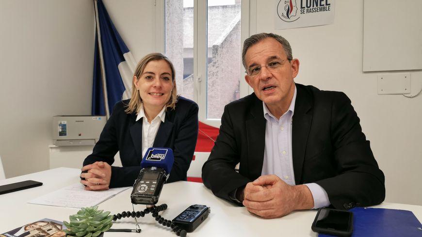 L'ancien poids lourd des Républicains Thierry Mariani est venu soutenir la candidate RN à Lunel, Julia Plane