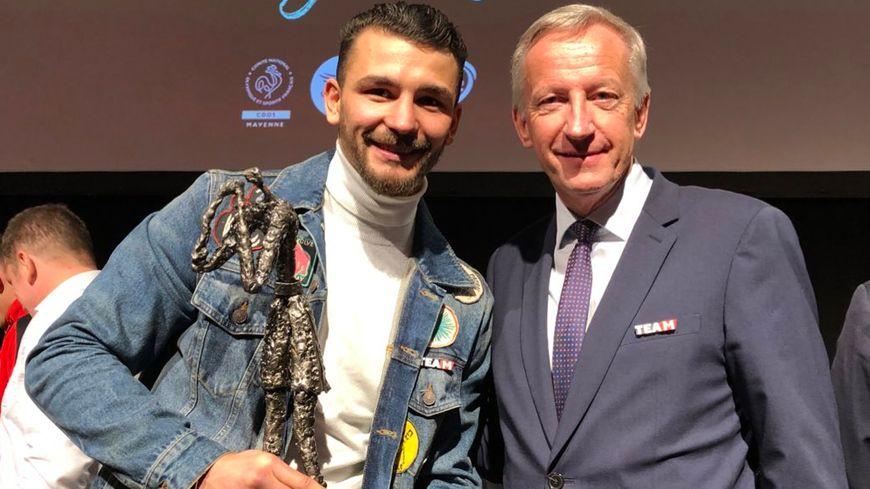 La 15ème élection du sportif mayennais de l'année couronne pour 2019 : le boxeur Jordy Weiss, surnommé El Gitano.
