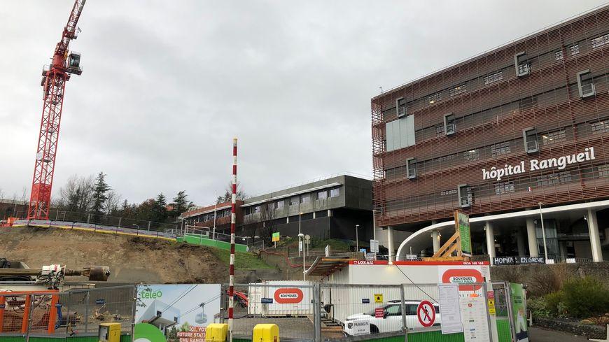 chantier Téléo hôpital de Rangueil