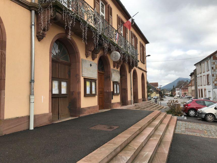 La mairie de Saales