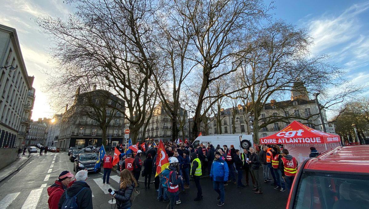 Nantes : arrivée sous les sifflets de la secrétaire d'État à la transition écologique