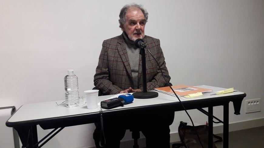 Pierre Jedynak, fils de Juifs polonais, témoigne au Cercil à Orléans pour les 75 ans de la libération d'Auschwitz