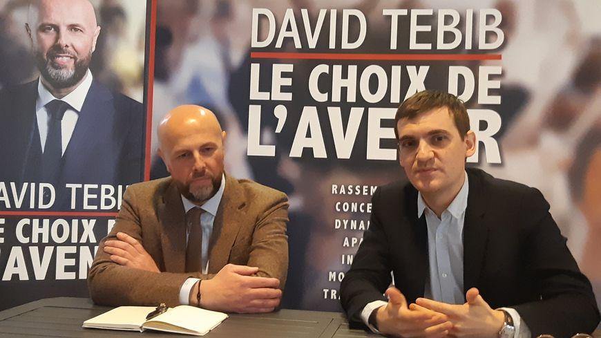 "David Tebib présente Nicolas Cadène qui le rejoint sur sa liste ""Nîmes ensemble"""