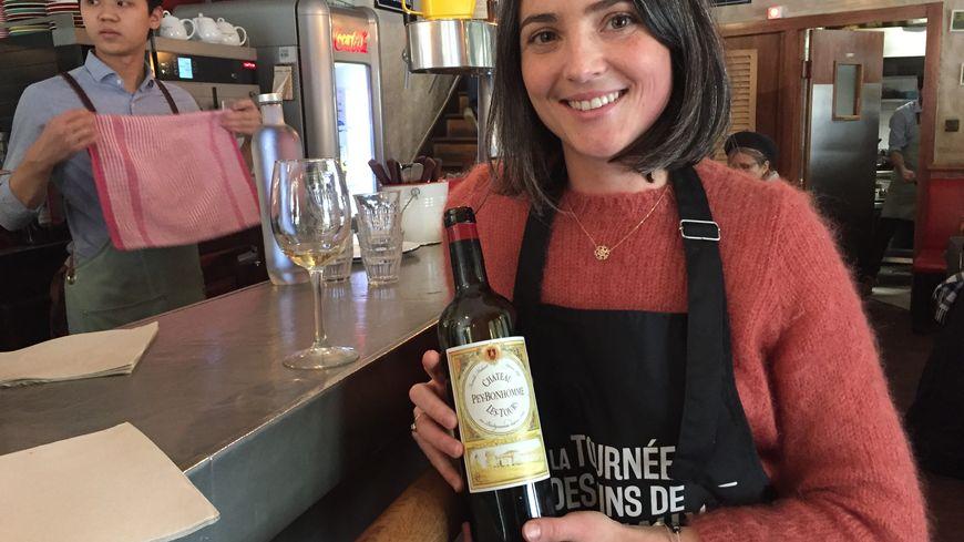 Rachel Hubert, vigneronne au Château Peybonhomme-Les-Tours, dans le Blayais.