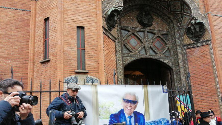 Les obsèques de Michou à Montmartre