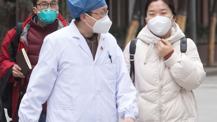 Coronavirus  -  Wuhan, , CHINE