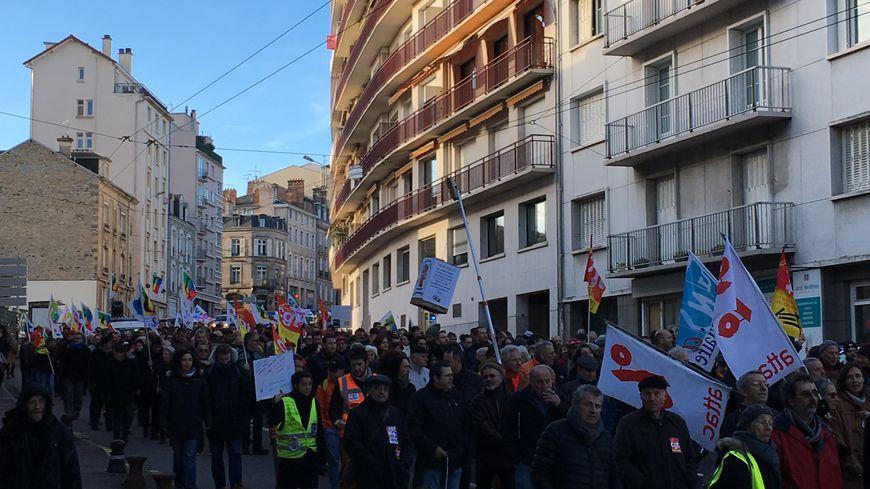 La mobilisation contre la réforme des retraites ne faiblit pas à Limoges